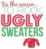 Ugly Sweater Christmas Party on aBudget
